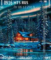 Winter Fant theme screenshot