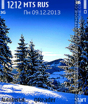 Winter tema screenshot