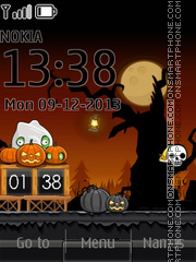 Angry Birds Hallloween theme screenshot