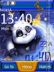 Cute Panda 03 tema screenshot