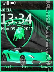 Lamborgini 04 tema screenshot