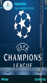 Champions League theme screenshot