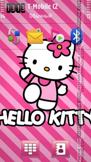 Hello Kitty 49 Theme-Screenshot