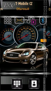 Car Speedometer theme screenshot