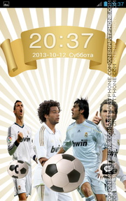 Real Madrid 2038 theme screenshot