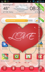 Romantic 05 tema screenshot