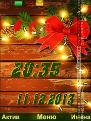 Holiday tema screenshot