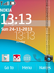 Android Kitkat 01 theme screenshot