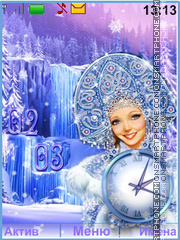 Snow-maiden Theme-Screenshot