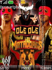 WWE Los Matadores theme screenshot