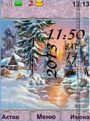 Winter theme screenshot