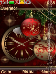The red festive tema screenshot