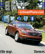 Infiniti Fx45 theme screenshot