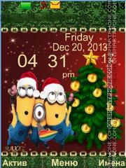 Minions theme screenshot