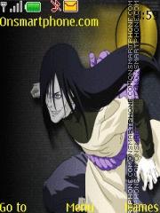 Скриншот темы Orochimaru