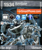 Transformer 2007 QVGA theme screenshot