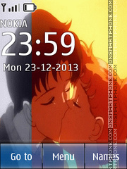 Usagi and Mamoru theme screenshot