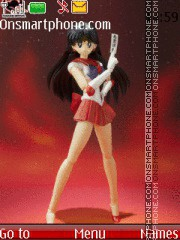 S.H.Figuarts:Sailor Mars 2013 theme screenshot