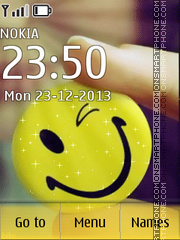 Happy Smiles tema screenshot