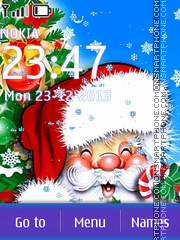 A Christmas Tale tema screenshot