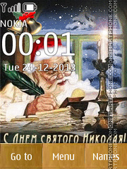 Saint Nicholas! tema screenshot