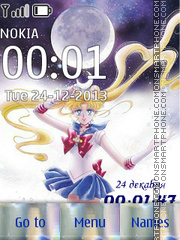 Sailor Moon (Artbook) tema screenshot