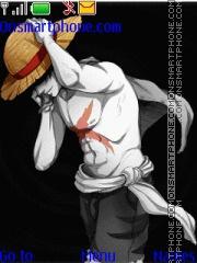 Luffy One Piece theme screenshot