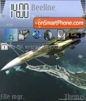 Скриншот темы AirForce