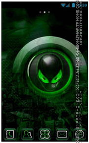 Alien theme screenshot