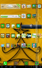 Xmas 06 theme screenshot