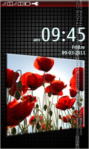 Poppies 01 Theme-Screenshot
