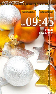 Celebratory 2014 tema screenshot