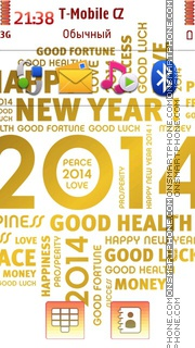 New Year 2014 02 tema screenshot