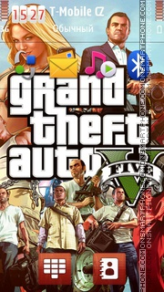 Grand Theft Auto 5 theme screenshot