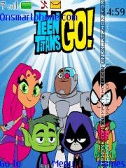 Скриншот темы Teen Titans Go