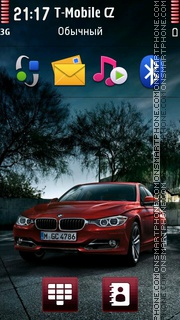 Bmw 3 Gt theme screenshot