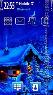 Winter Scenery es el tema de pantalla