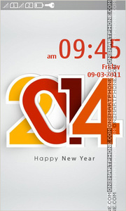 New Year 2014 03 Theme-Screenshot