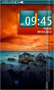 Sea Landscape 01 tema screenshot