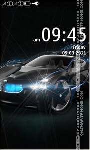BMW by Naz theme screenshot