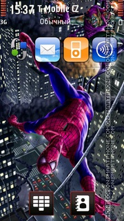 Spiderman 11 theme screenshot