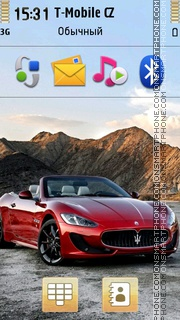 Maserati Grancabrio 01 theme screenshot