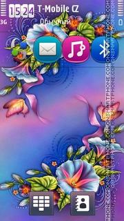 Floral Design 04 theme screenshot