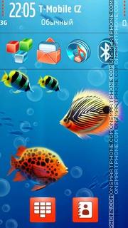 Aquaworld 02 theme screenshot