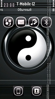 Yin Yang 02 theme screenshot
