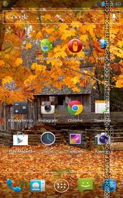 Autumn live wallpaper theme screenshot