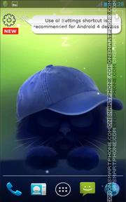 Yin The Cat theme screenshot