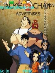 Jackie Chan Adventures es el tema de pantalla