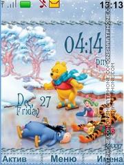 Скриншот темы Winnie the Pooh