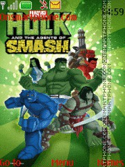 Hulk & The Agents SMASH es el tema de pantalla